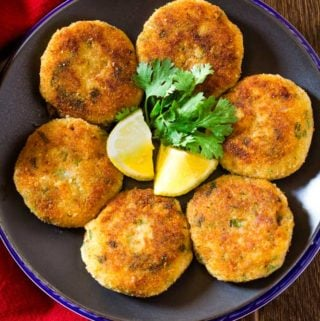 Crispy Golden Potato Cutlets