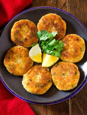 Crispy Golden Potato Cutlets