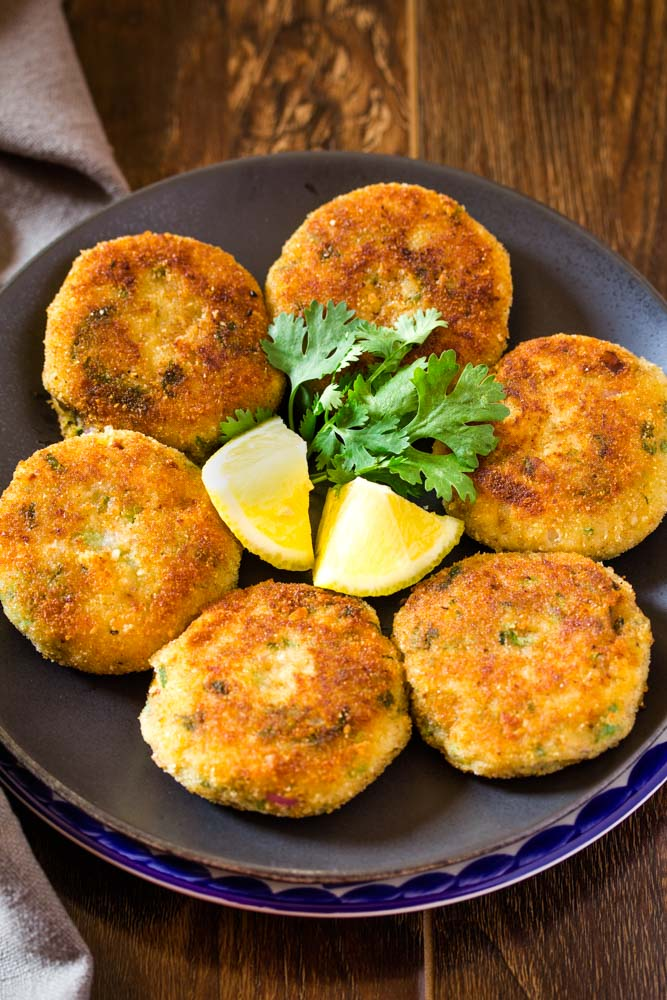 how to make potato cutlets recipe