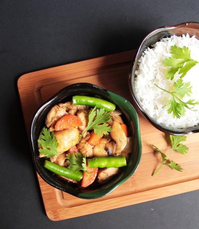 Chicken Teriyaki with Vegetables