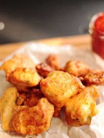Garlicky Chicken Nuggets
