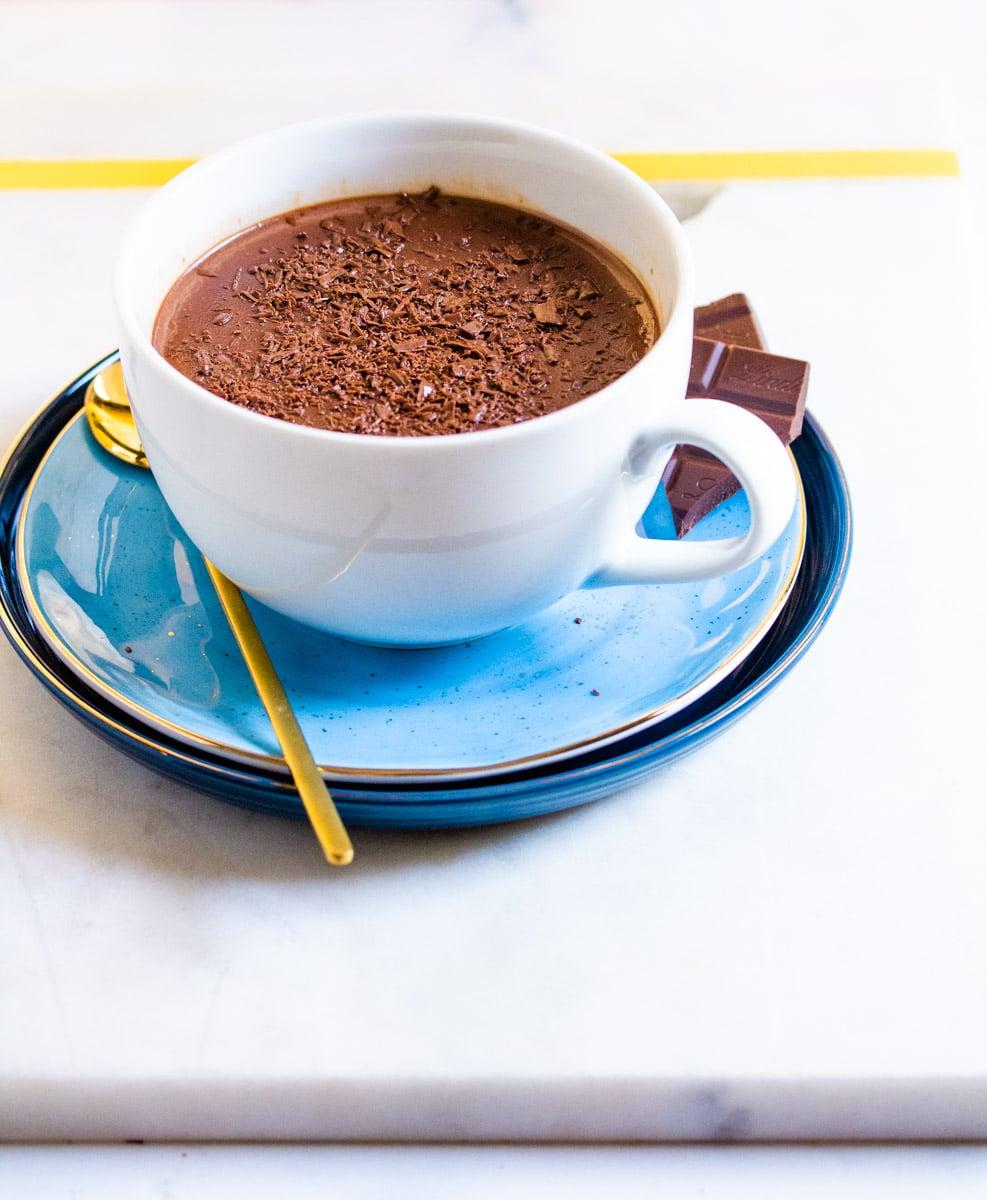 Italian Hot Chocolate-Ciccolata Calda