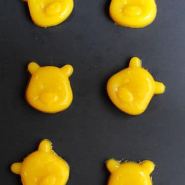 Five Ingredient Mango Gummy Bears