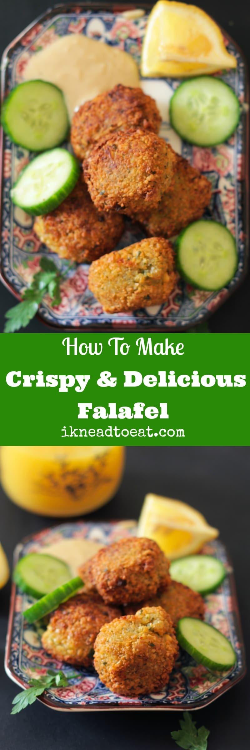 How to Make Crispy & Delicious Falafel