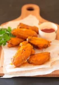 Buffalo Sauce Chicken Wings-5