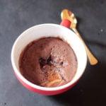 Lindt Chocolate Lava Mug Cake