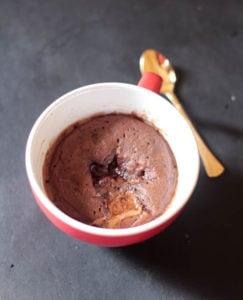 Lindt Chocolate Lava Mug Cake-1