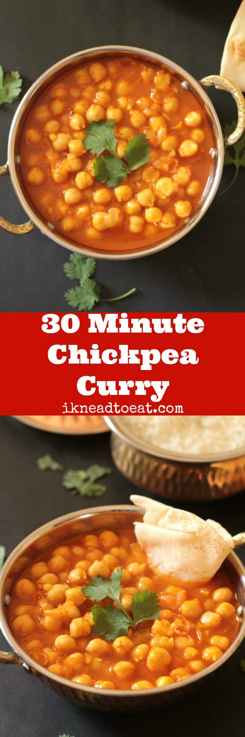 30 Minute Chickpea Curry