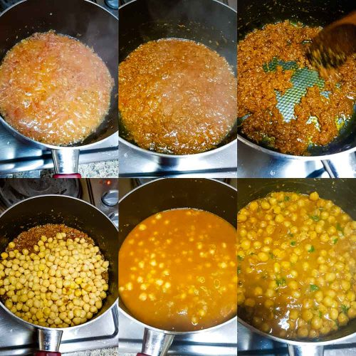 how to make punjabi chole masala