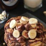 Hershey's Kisses Chocolate Stuffed Pancakes