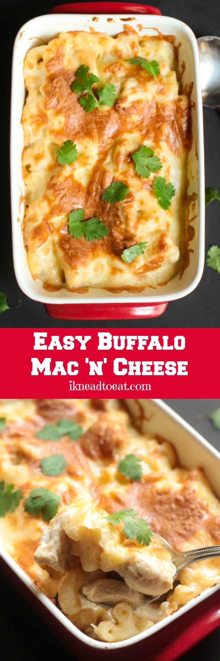 Easy Buffalo Mac n Cheese
