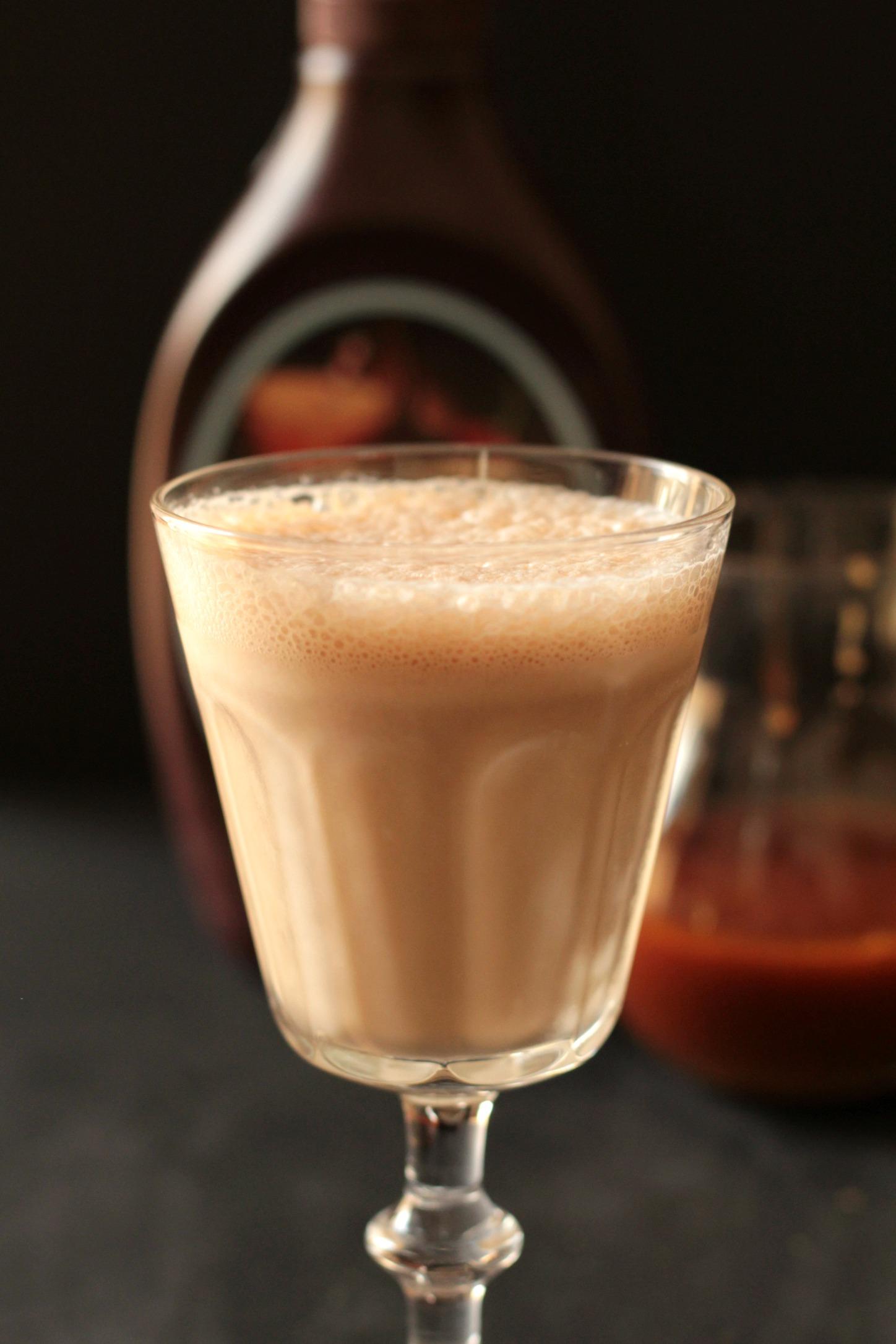 Salted Caramel Mocha Ice Cream Milkshake