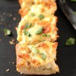 Cheesy Alfredo Chicken Bread