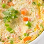 Easy Cheesy Baked Oregano Omelette