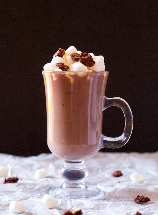 Sizzling Brownie With Hot Chocolate Recipe