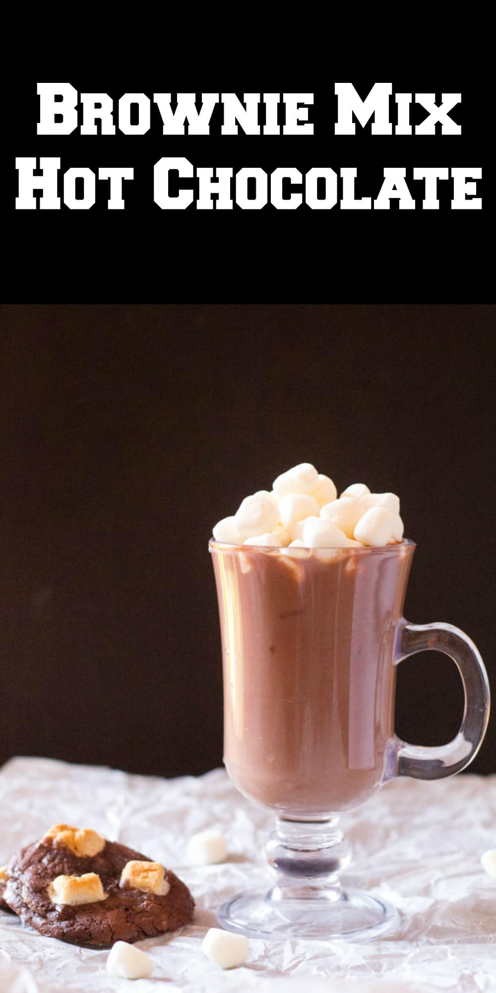 Brownie Mix Hot Chocolate