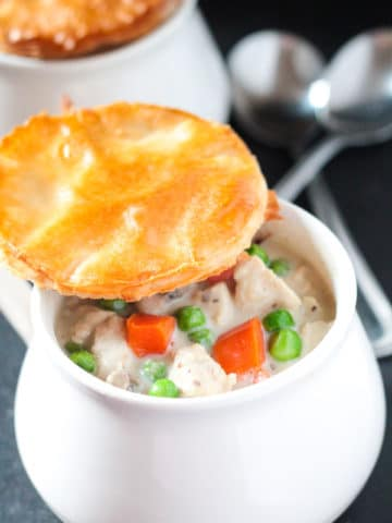 Lighter Chicken Pot Pie
