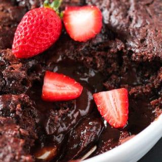 Chocolate Self Saucing Pudding