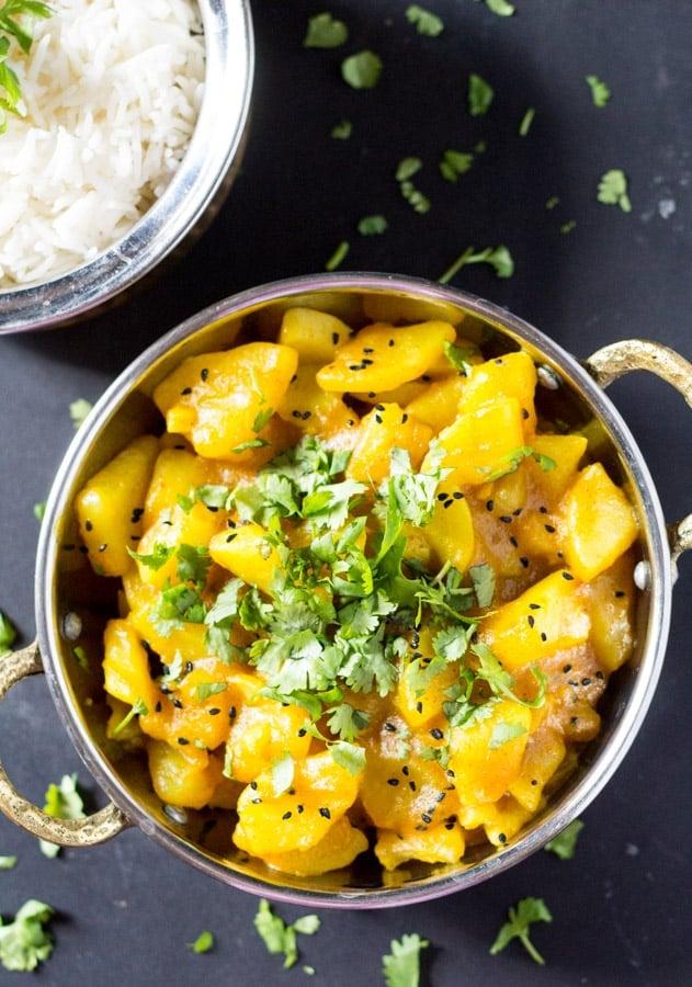 Six Ingredient Indian Potato Curry