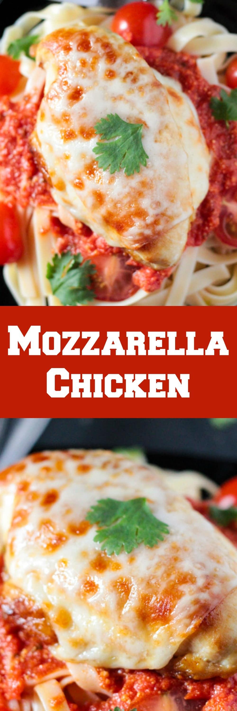 20 Minute Mozzarella Chicken