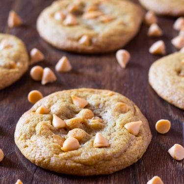 Butterscotch Chip Pudding Cookies