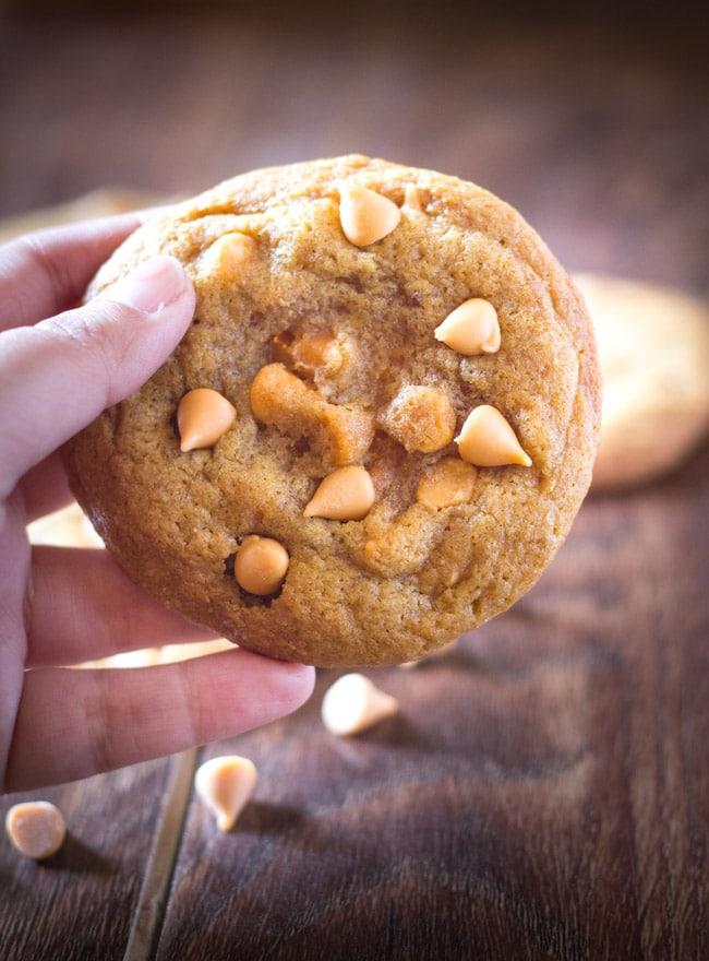 Butterscotch Chip Pudding Cookies