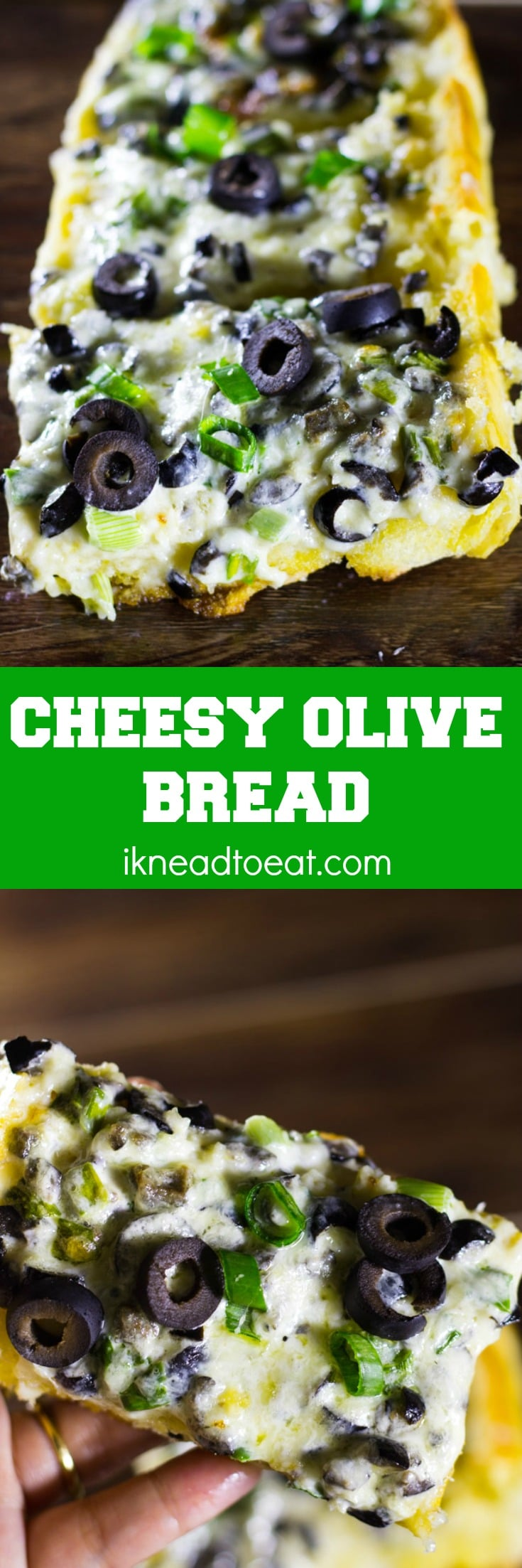 Cheesy Olive Bread