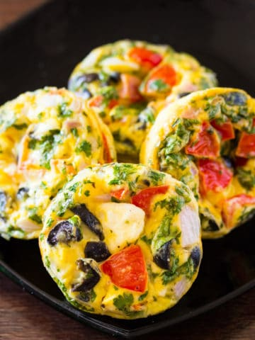 Greek Egg Muffins