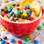 Creamy Peanut Butter Cheesecake Dip