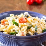 Easy Creamy Summer Macaroni Salad Recipe