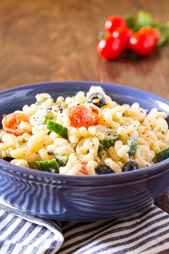 Easy Creamy Summer Macaroni Salad