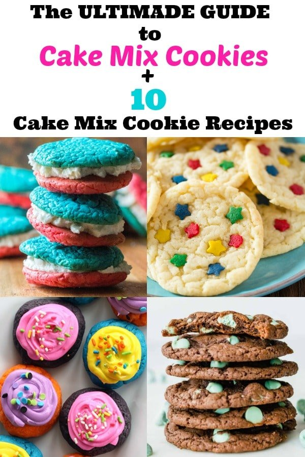 The Ultimate Guide to Cake Mix Cookies