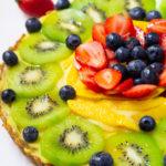 Summer Fruit Custard Tart