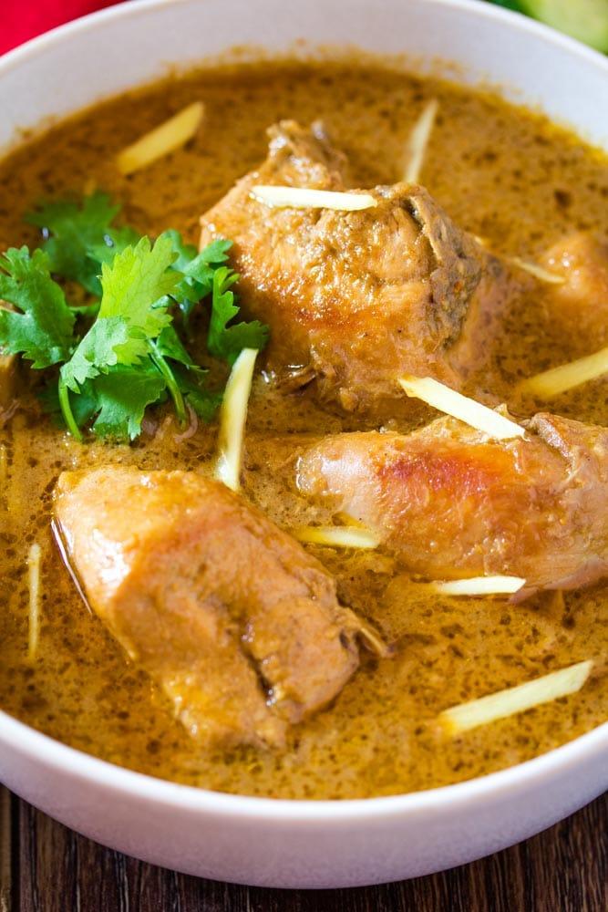 pakistani chicken korma