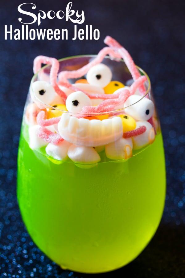 spooky halloween jello pin