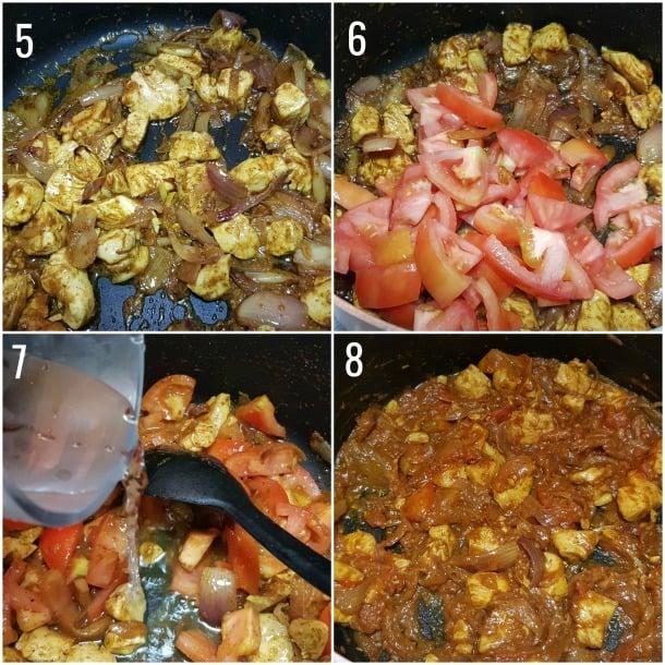 cooking steps for chicken haleem