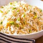 Middle Eastern Lebanese Rice Pilaf
