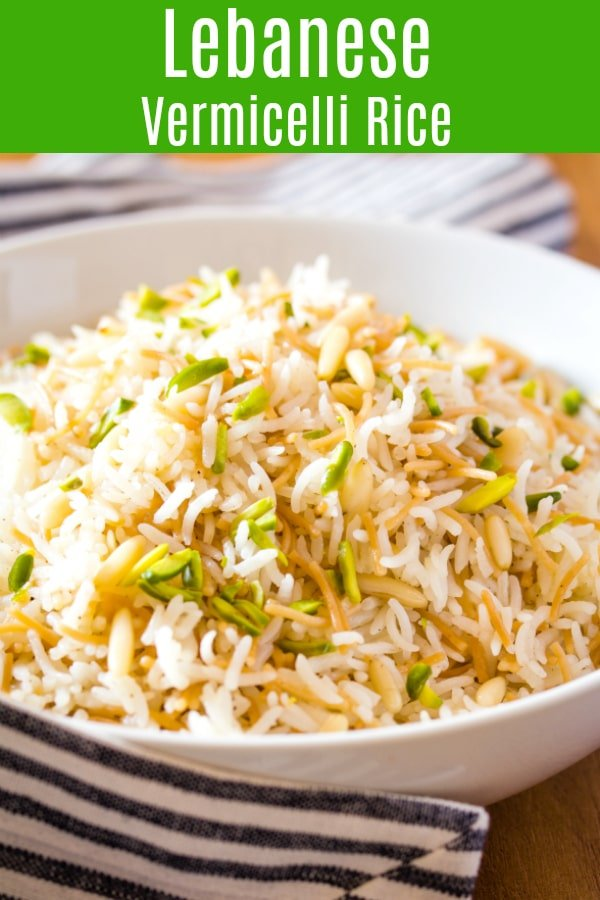 Lebanese Vermicelli Rice with step by step photos