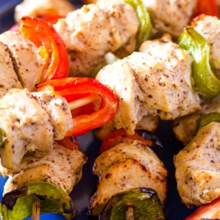 Shish Tawook Grilled Lebanese Chicken on Skewers