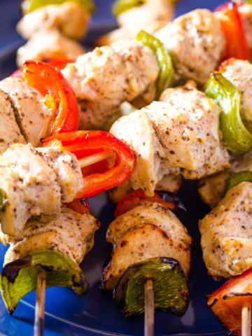 Shish Tawook | Lebanese Grilled Chicken on Skewers (Step-by-Step)