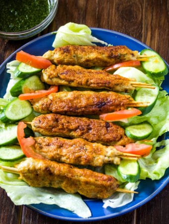 Chicken Seekh Kabab
