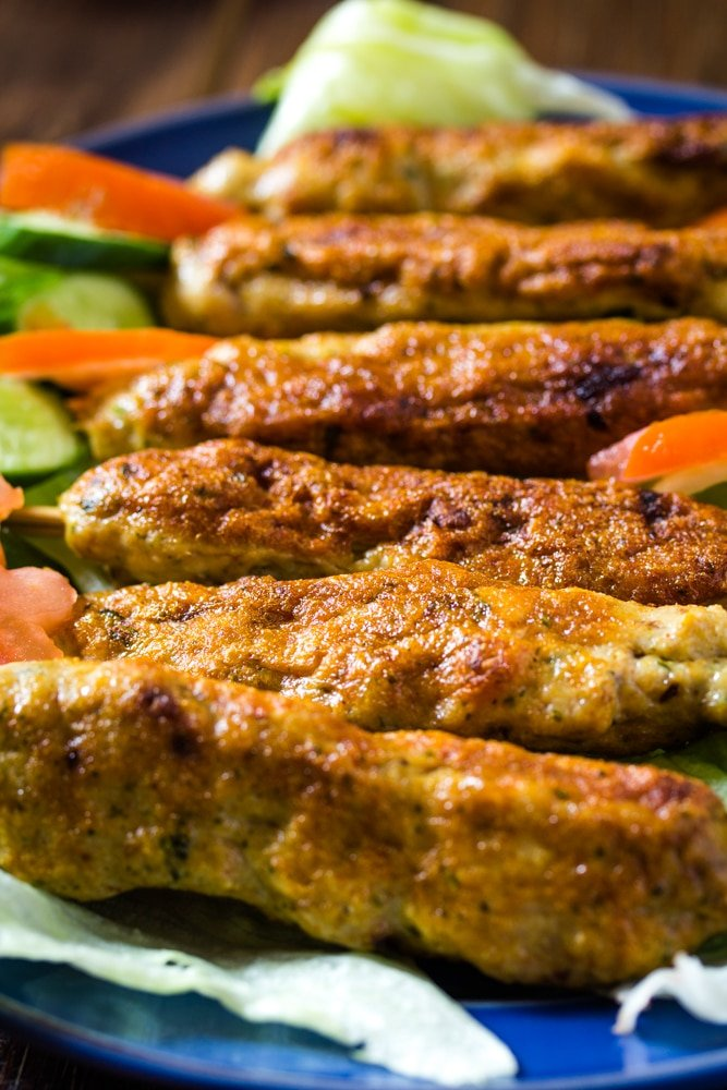 How to Make Chicken Seekh Kebab
