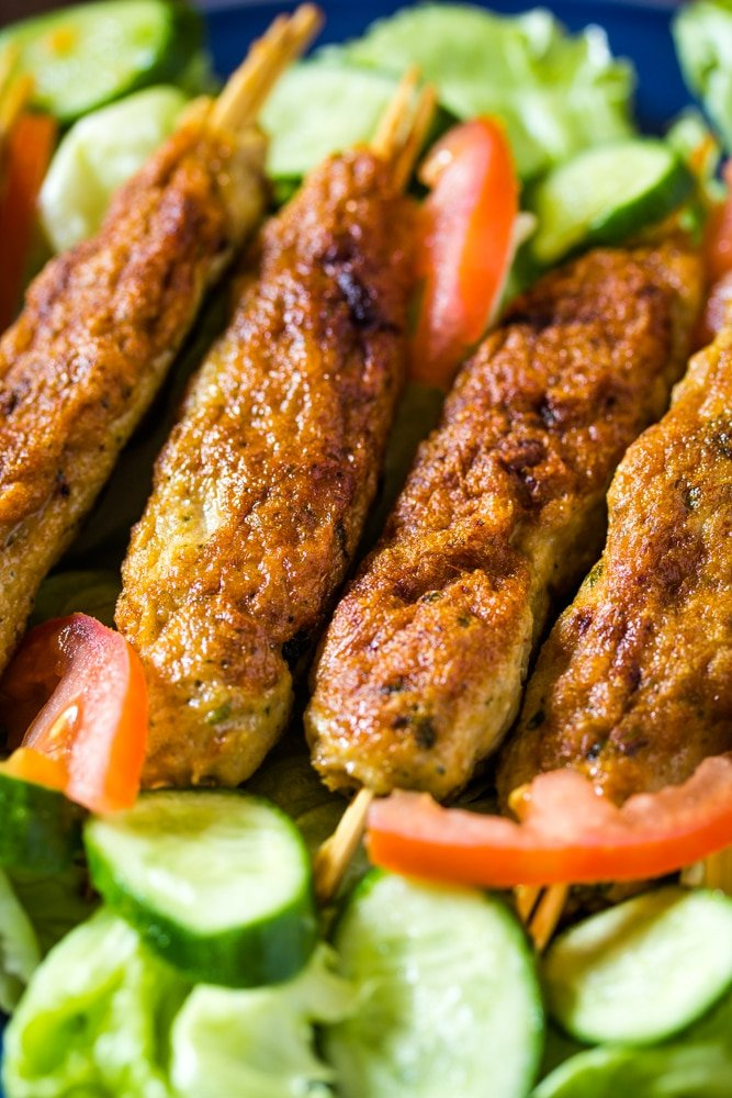 Indian Seekh Kebab