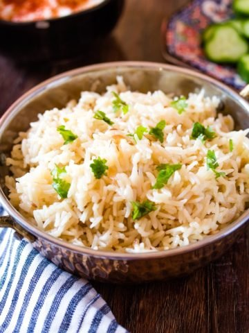 Jeera Rice - Only 3 Ingredients!