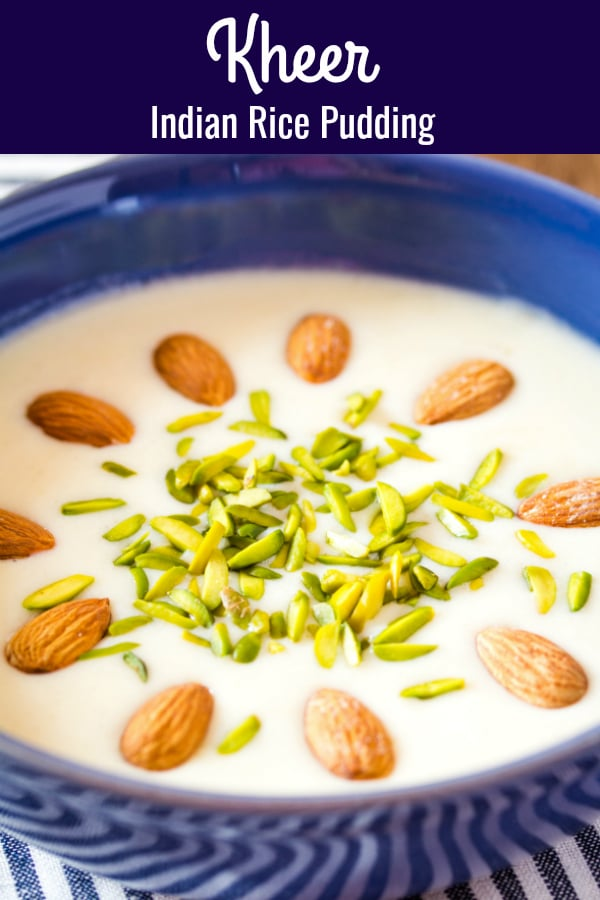 Indian Rice Pudding Kheer