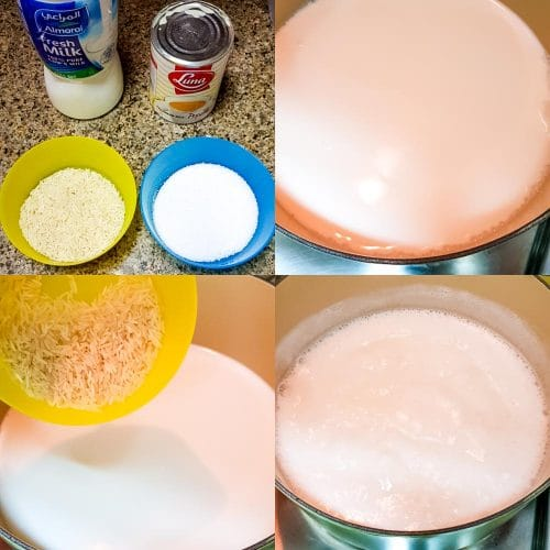 how to make kheer (step by step pictures)