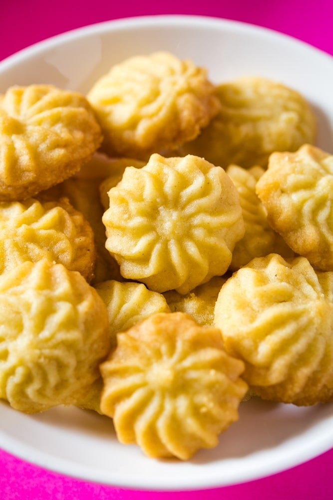 Butter Cookies without Eggs