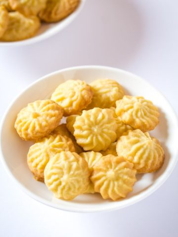 Butter Cookies Pastisetas