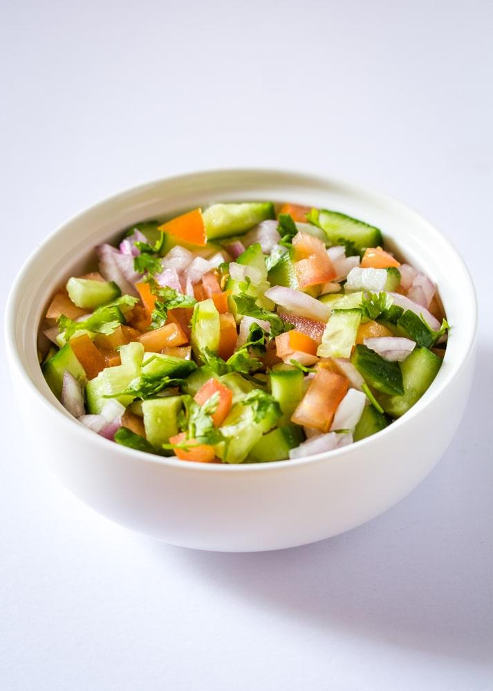Indian Salad Kachumber Salad I Knead To Eat