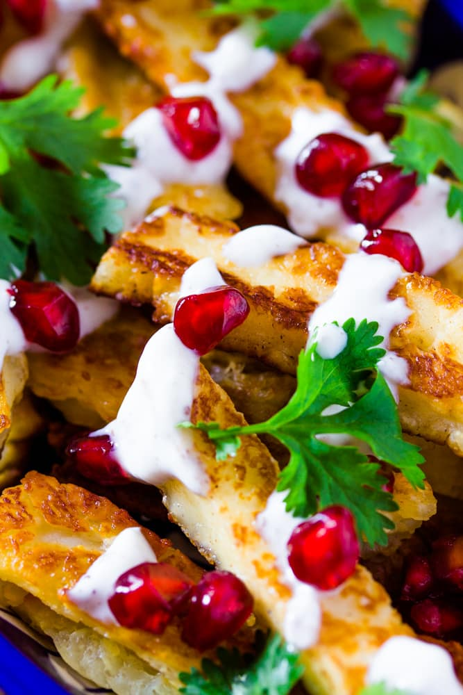 Fried Halloumi Sticks